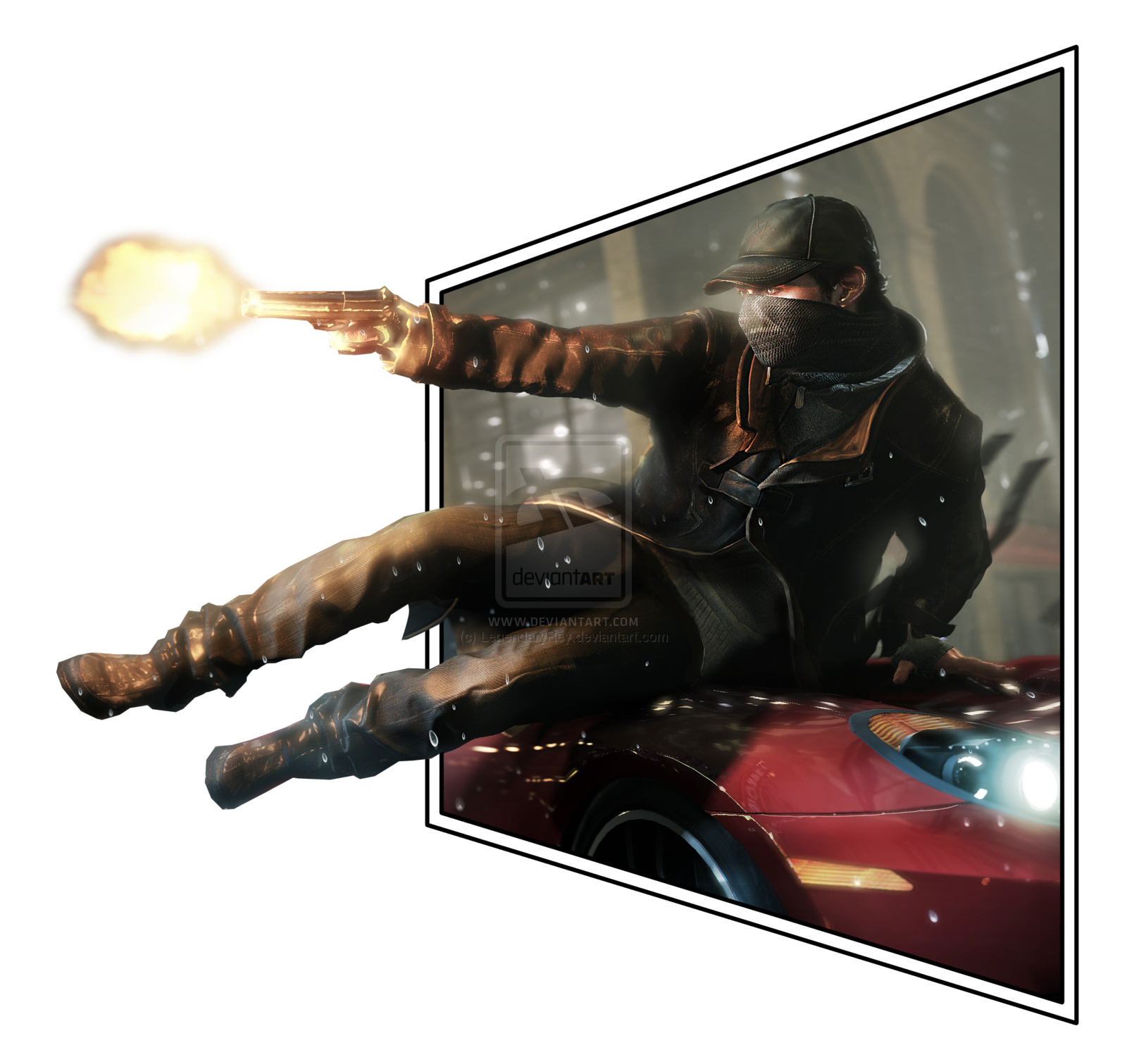 watch_dogs_aiden_pearce_pop_out_3d_effect_by_legendaryrey