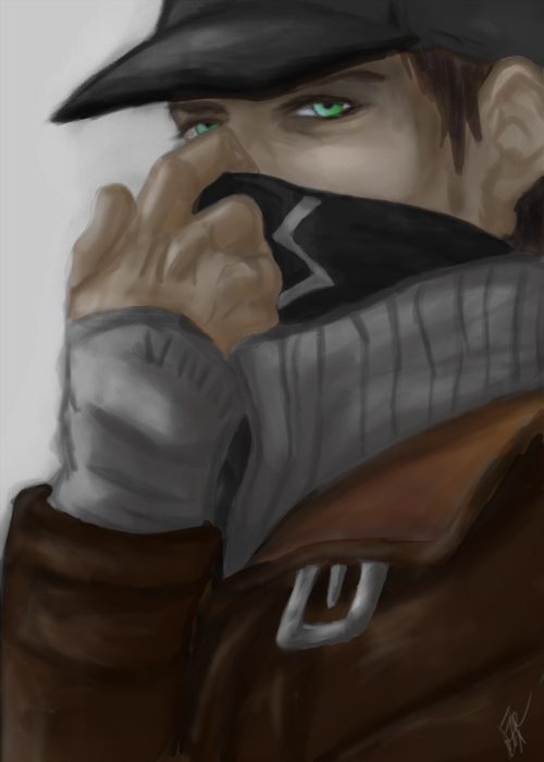 watch_dogs_art_aiden_by_faithatano